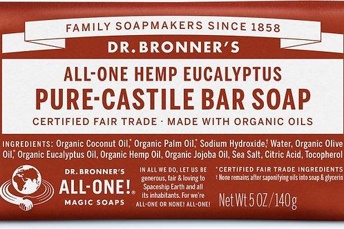 Dr. Bronner Eucalyptus (bar soap)
