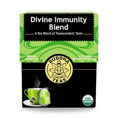 Buddha Teas Divine Immunity Organic Premium Tea Blend 18 tea bags
