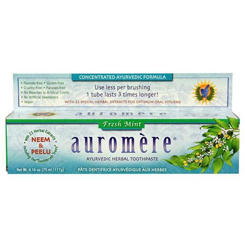 Auromere Fresh Mint Toothpaste 4.16 oz