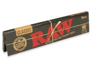 Raw King Size Classic Black Paper