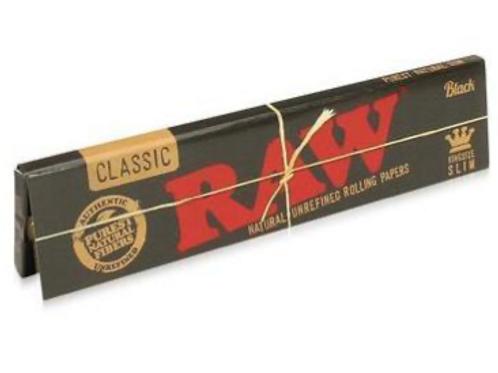 Raw King Size Classic Black Paper