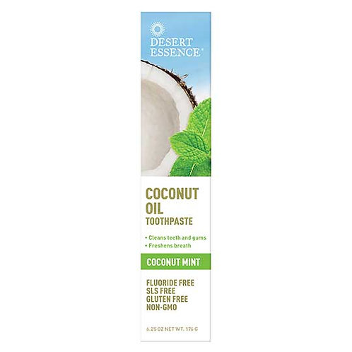 Desert Essence Coconut Toothpaste 6.25 oz.