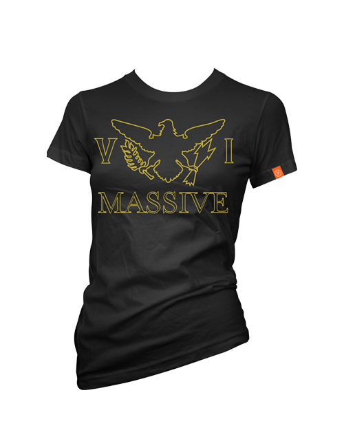 VI Massive Black and Gold