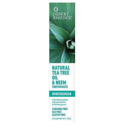 Desert Essence Mint Tea Tree Toothpaste 6.25 oz.