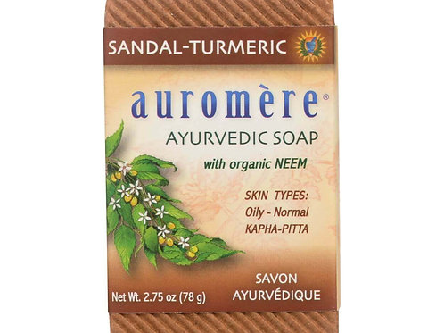 Sandal-Turmeric Ayurvedic Soap