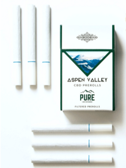 Aspen Valley CBD prerolls