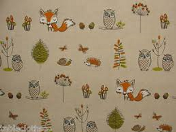 Forest Oil Cloth