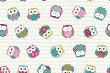 Owl Oil Cloth