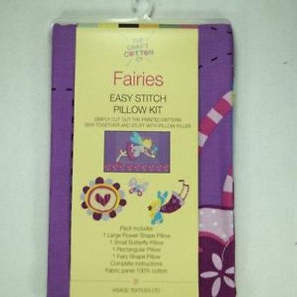 Fairies Easy Stitch Pillow Kit