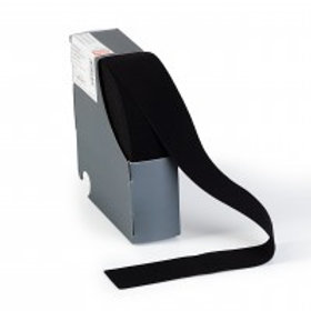 Elastic waistband, 38mm, black