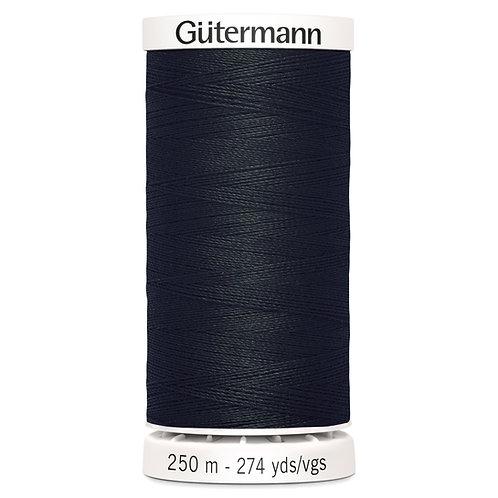 Gutermann 250m Sew All Thread Black