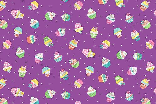 Daydream Purple Cupcakes 2277 L