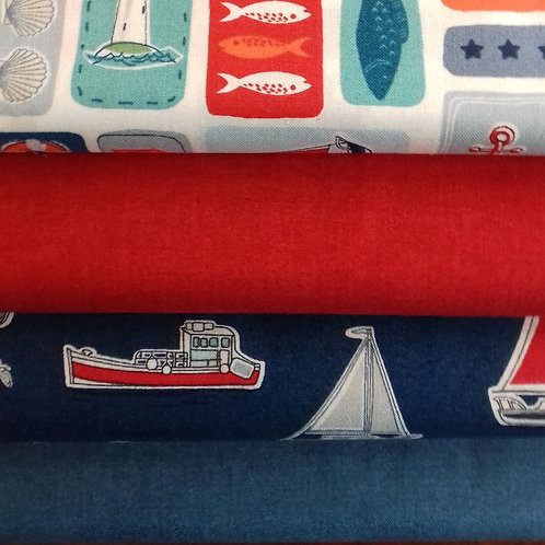 Nautical Fat Quarter Pack