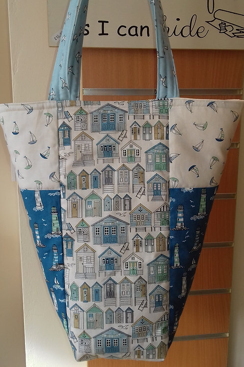 Tote Bag kit with fabric and instructions