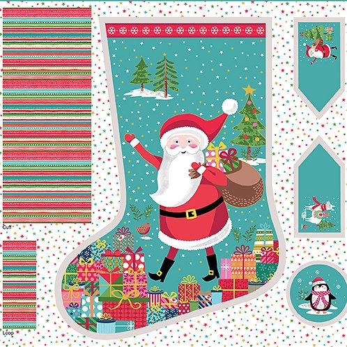Let it Snow Christmas Stocking