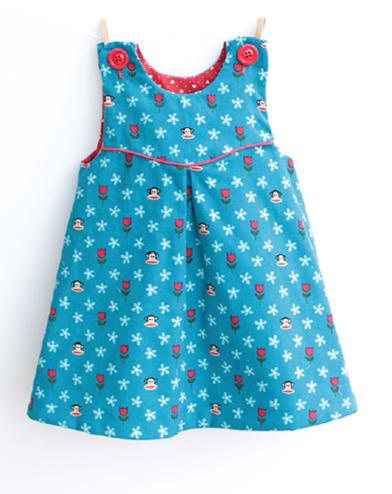 Little Girls Reversible Dress