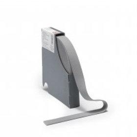 Elastic waistband, 38mm, grey