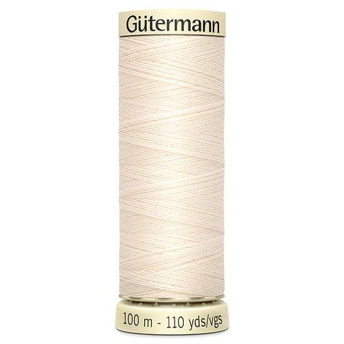 Gutermann 100m Sew All Thread 802
