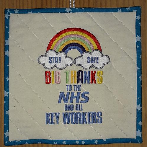 NHS Window Hanger
