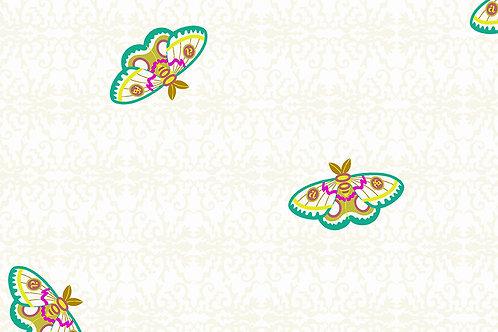 Alison Glass Art Theory 9700L White Butterflies