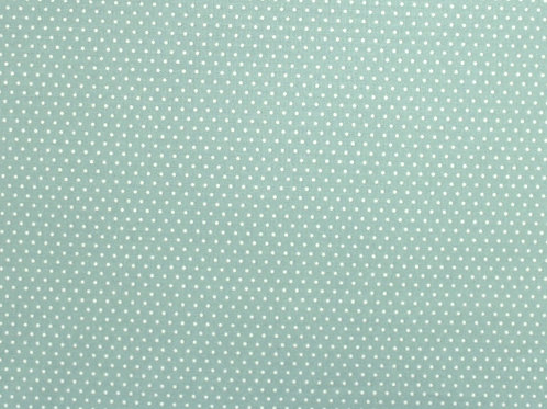 Fabric Freedom Green with White dots