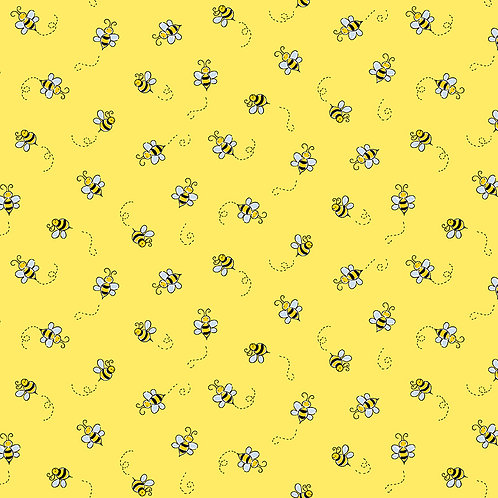 Bee's in Yellow