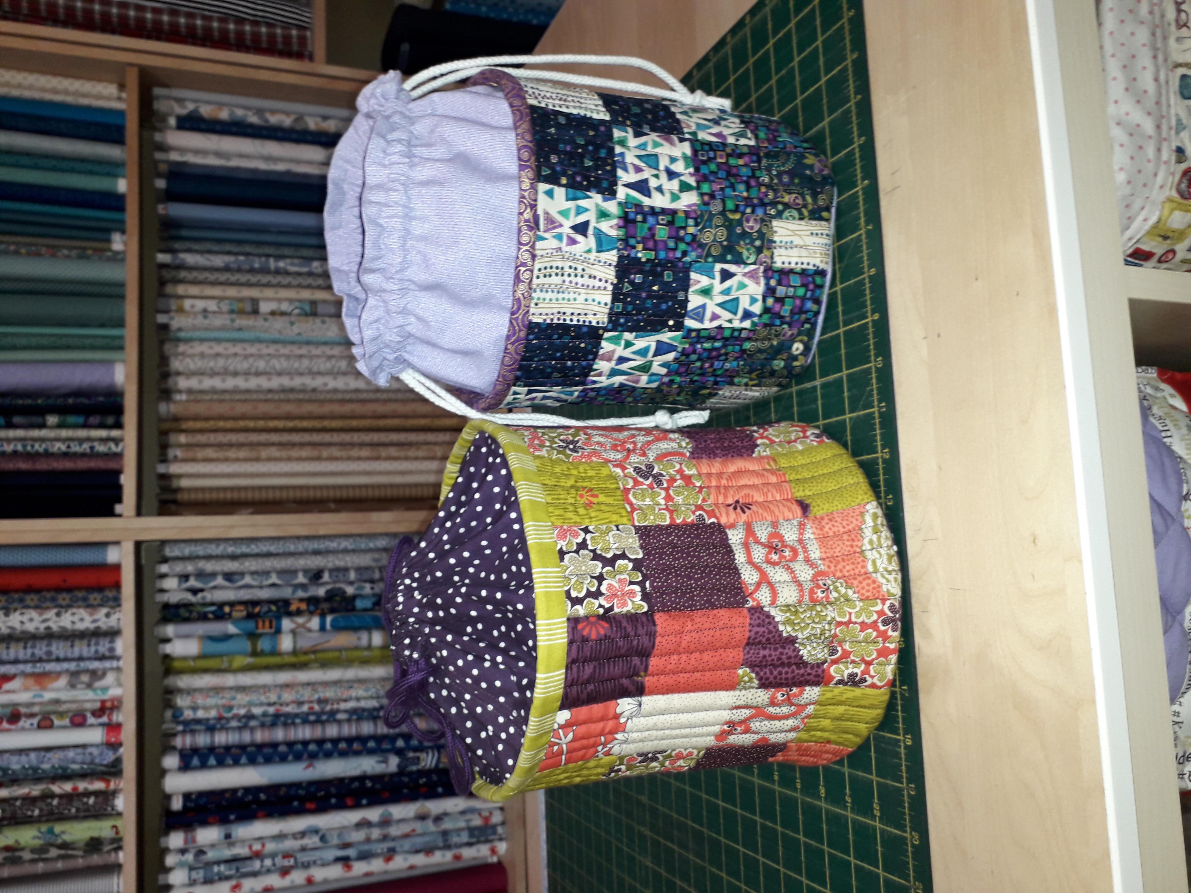 Fabric Tub with draw string closure