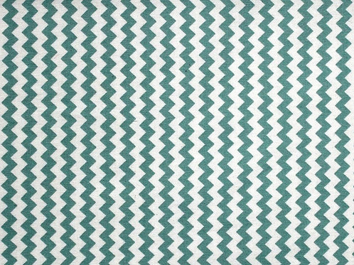 Fabric Freedom Green Chevron