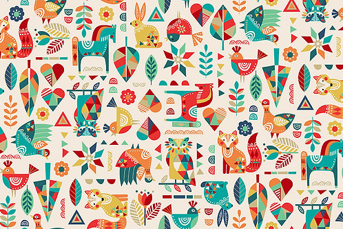 Folk Friends Animals 2300 Q