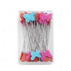 Plastic-headed pins Prym Love, 50 x 0.60 mm, assorted