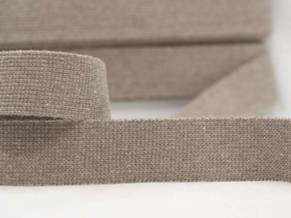 DWP40-2-light-taupe – 40mm wide plain colour webbing – light taupe