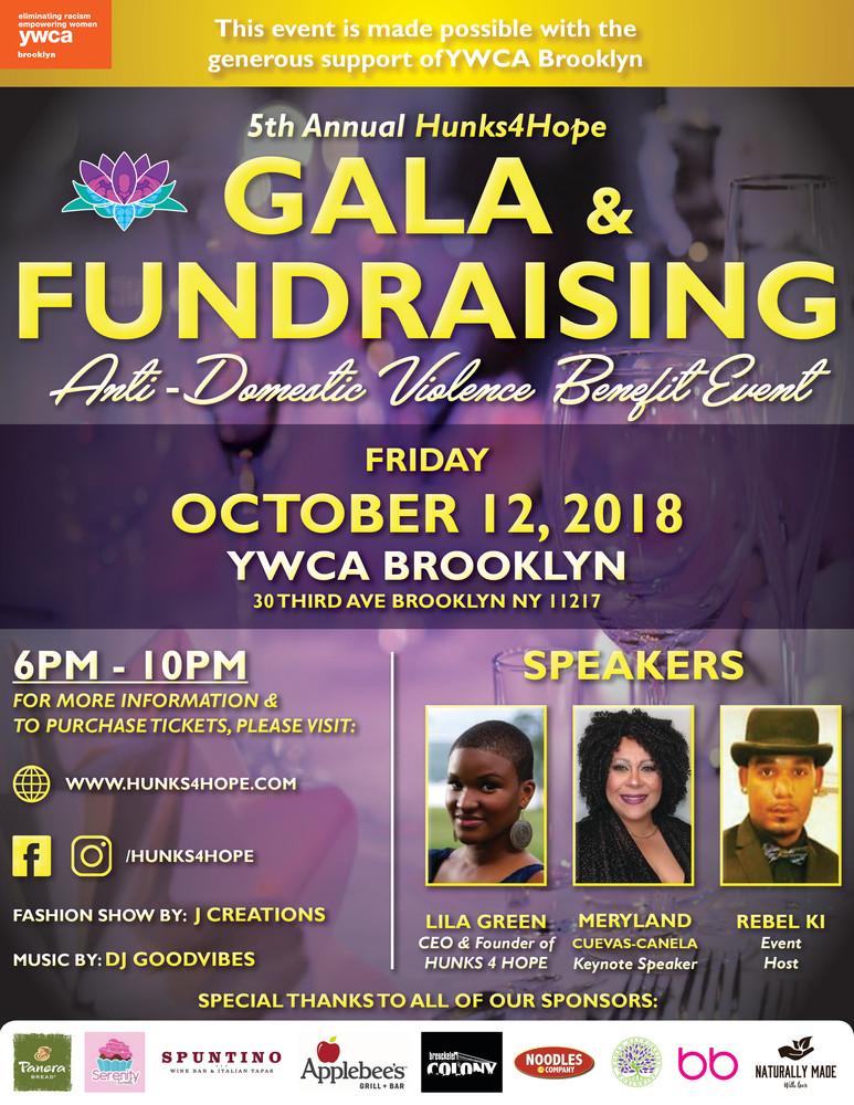 Gala & Fundraiser Flyer