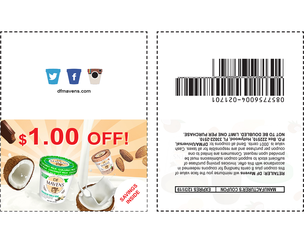 Stick-on Coupon
