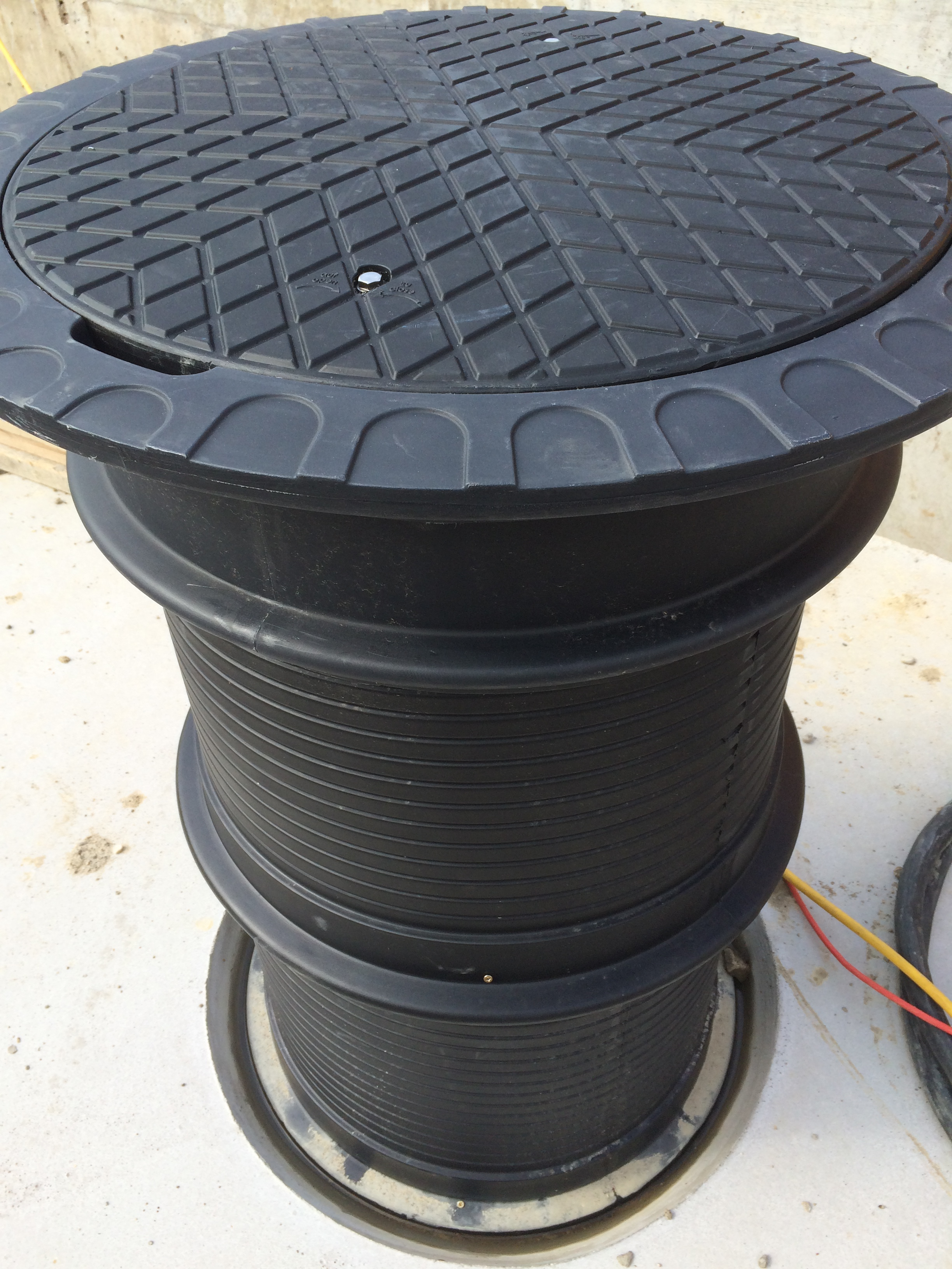 Tank-Filterschacht