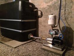 Frequenzgesteuerte Quellwasserpumpe