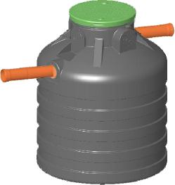 Minispeicher Piccolo 1'000 Liter