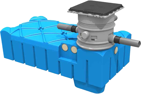 Flatline Flachtank 3'000 Liter