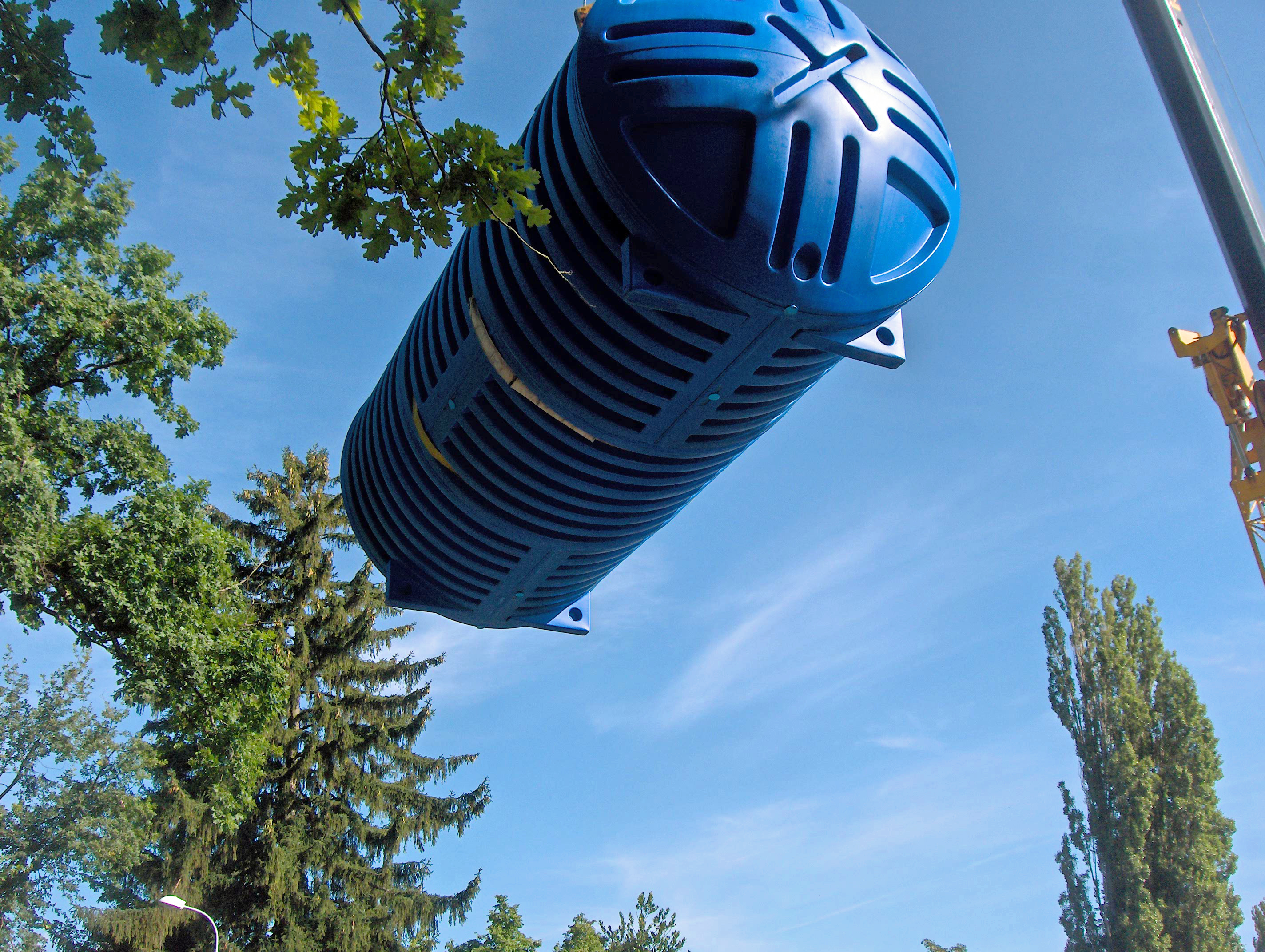 Doppelwand-Tank Regenwasser Rikutec