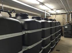 Kellertank Batterie