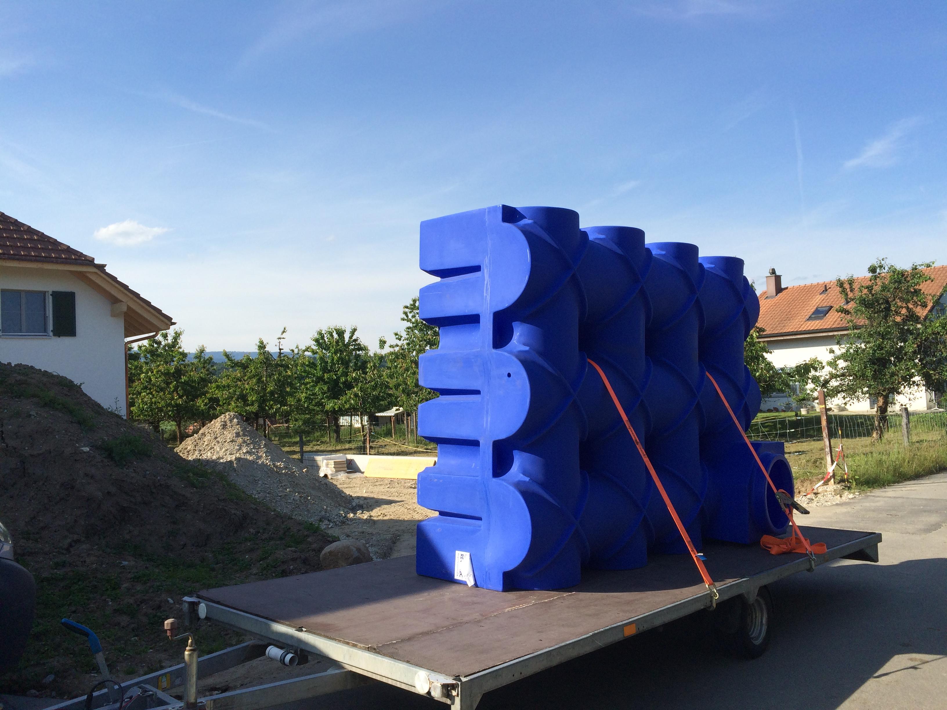 F-Line Flachtank 5'000 Liter