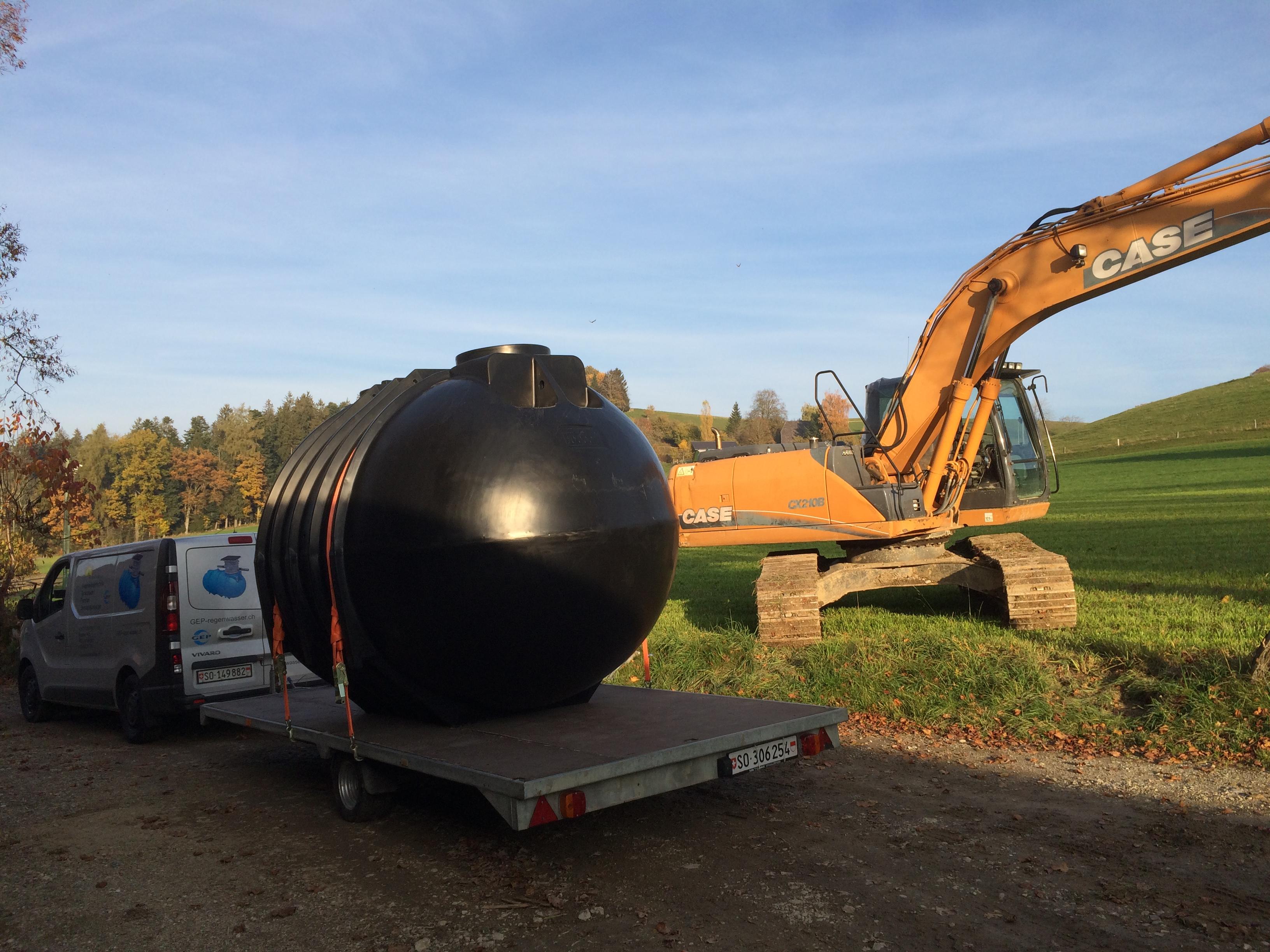 Trinkwassertank 10'000 Liter