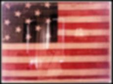 Ketewamoke Chapter USA Flag Depicting Original Thirteen Colonies