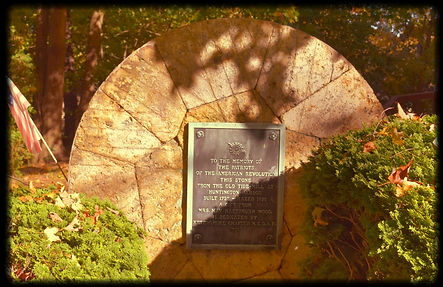 Ketewamoke Chapter Plaque Dedicated to the Memory of the Patriots of the American Revolution
