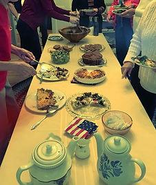 Ketewamoke Chapter Members Enjoy a Tea