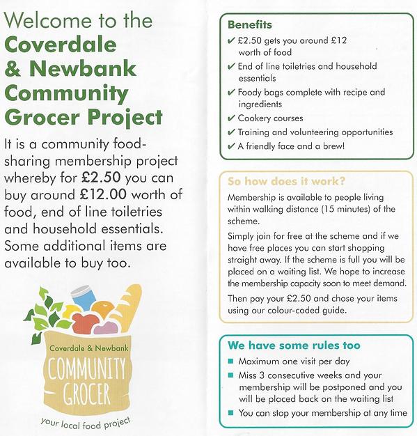 Coverdale & Newbank Community Grocer Shop