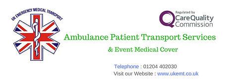 UK Emergency Medical Transport Telephone