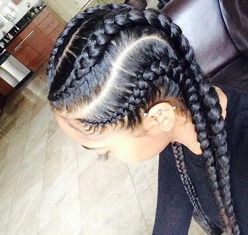7 Popular Cornrow Braid Styles Used By the People