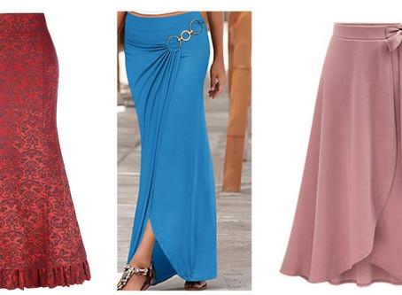 Beautiful Flared Skirt Designs for Women
