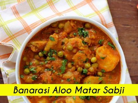 Banarasi Aloo Matar Sabji