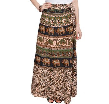 Amazing Models of Wrap Around Skirts That Will Impressive You
